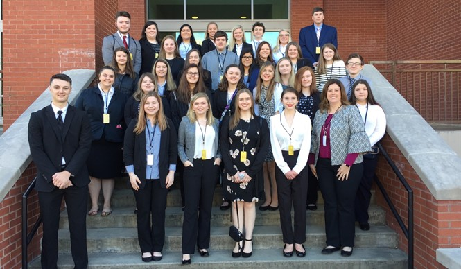 Thirty-one members of Clinton County ATC's FBLA chapter competed in the Region 2 Leadership Conference.