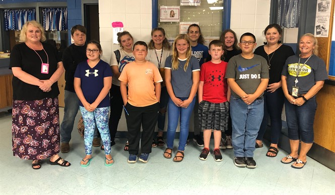 Shannon Beaty from the Lake Cumberland District Health Department met with the CCMS Drug Busters.