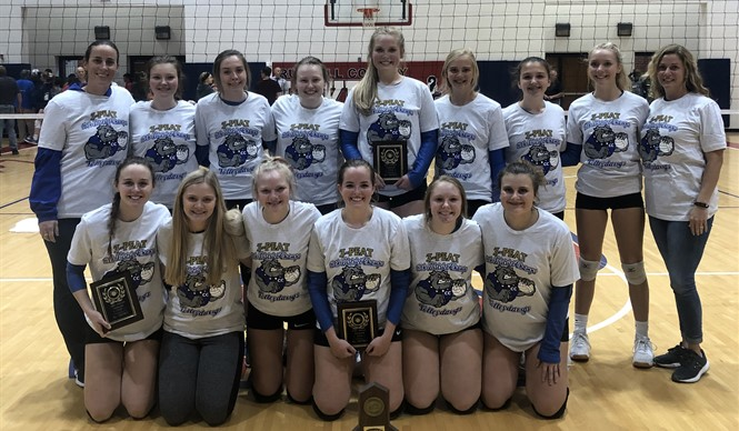 Congratulations to the CCHS VolleyDawgs - 16th District Champs three years in a row!!!???