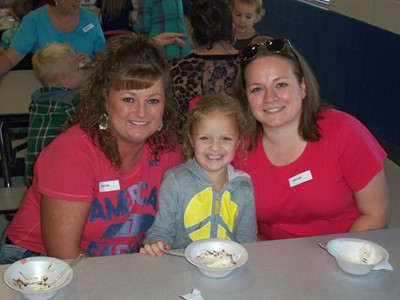 Clinton County Early Childhood Center celebrated Awesome Aunts Day on Thursday, September 15th.