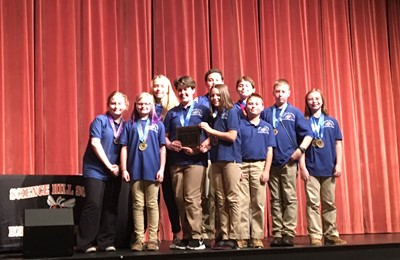 CCMS Academic wins the annual 6th Grade Showcase.