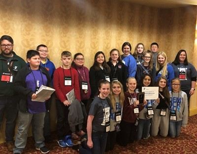 Delegate Roles available to participants.  The Clinton County Middle School Y-Club attended the KYA Conference in Louisville on November 7th – 9th.