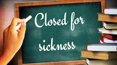 Due to widespread student sickness, Clinton County Schools will be closed on Monday, February 12th & Tuesday, February 13th. These will NOT be Cyber Days and will be made up at the end of the school year. Classes will resume on Wednesday, February 14th on regular schedule.