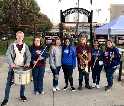 CCHS band members had a great time at Campbellsville University's Band Day on Saturday, November 9th!