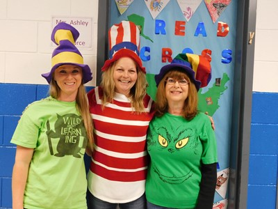 Dr. Seuss hats were everywhere on Thursday, March 2nd, as students and staff at Clinton County Middle School celebrated Read Across America Day!