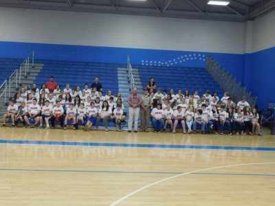 On Wednesday, May 9th, 112 students graduated from the DARE Program at Clinton County Middle School.