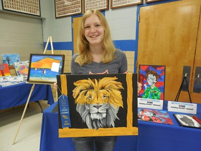 The 8th annual Gifted & Talented Art Show was held on April 18th at Clinton County High School.
