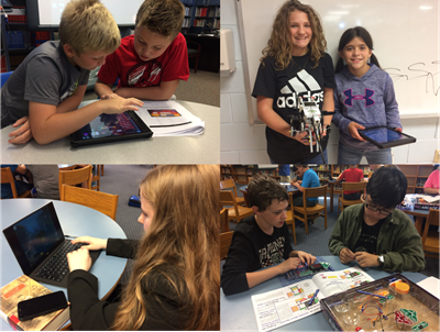 Students at AES and CCMS were treated to an in-school Introduction to Engineering workshop provided by the staff from the Challenger Center on September 28th & 29th.