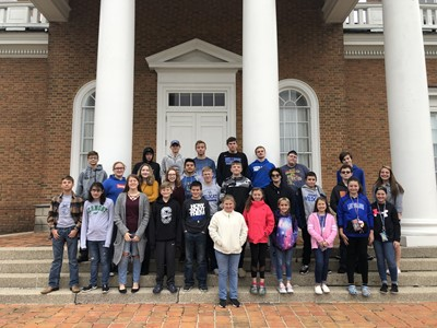 On Thursday, November 21st, students in the Gifted & Talented program at CCMS and CCHS were transported to WKYT in Lexington, Kentucky.