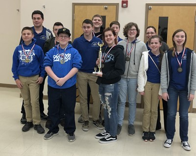 For the first time in history an academic team from Clinton County is a regional champion!