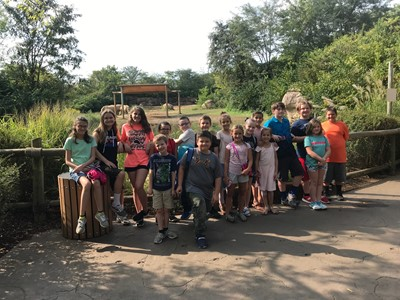 On Friday, September 20, 2019, Gifted & Talented students in grades 1 - 6 were transported to the Nashville Zoo at Grassmere in Nashville, Tennessee.