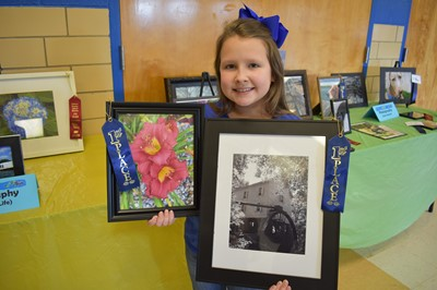 The 9th annual Gifted & Talented Art Show was held on April 17th at Clinton County High School.