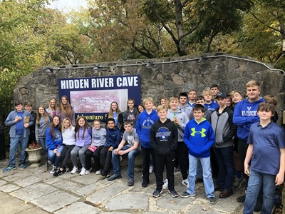 On Friday, October 25th, Gifted & Talented students at CCMS & CCHS were transported to the Hidden River Cave Zip Adventure Park and American Cave Museum in Horse Cave, Kentucky.