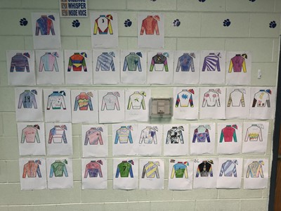 The 144th annual Run for the Roses at Churchill Downs is Saturday, May 5, 2018.  Fifth grade students at CCMS learned about jockeys and silks in preparation for the event, creating their own designs!