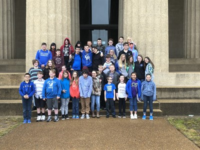 On Friday, October 26th, students in the Gifted and Talented program traveled to Nashville, Tennessee to visit the Vanderbilt Dyer Observatory and the Parthenon.