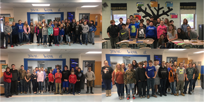 Clinton County Middle School students brought in a total of $487.42 to donate to the Leukemia and Lymphoma Society during the annual Pennies for Patients Program.