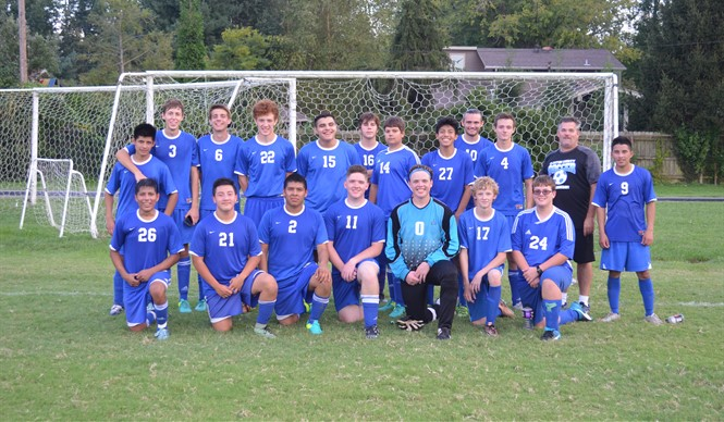 The CCHS Boys Varsity Soccer Team advances to the state tournament.