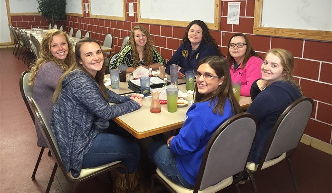 CCHS students who are College & Career Ready were rewarded with a luncheon.