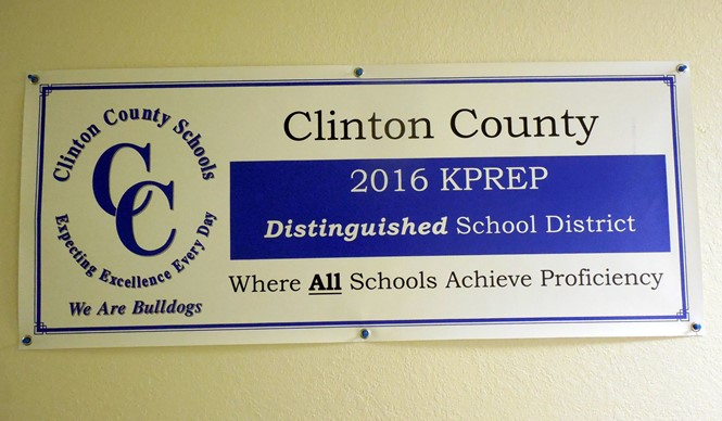 Clinton County School District is Distinguished!