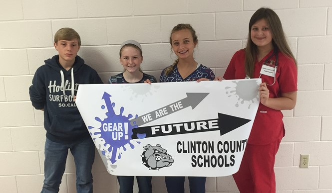 CCMS students celebrate GEAR UP Week!