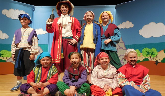 Students perform in Missoula Children's Theatre production of Peter & Wendy.