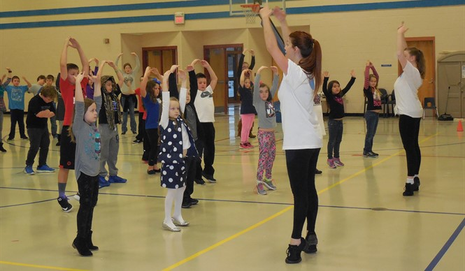 Louisville Ballet Outreach Program visits AES.
