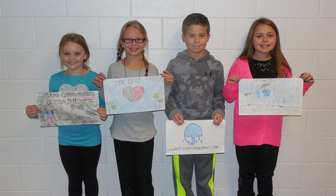 CCMS Red Ribbon Week poster contest winners