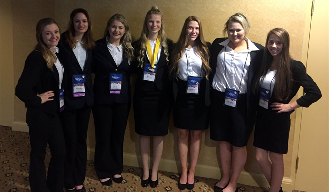 CCATC HOSA members compete at the HOSA State Leadership Conference.