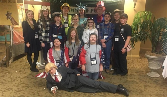 CCMS students attend KUNA Conference.