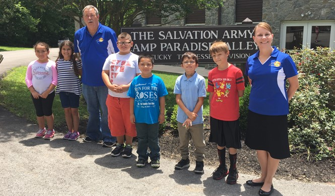 Students attend Salvation Army Camp Paradise Valley during the 2017 Migrant Summer Program.
