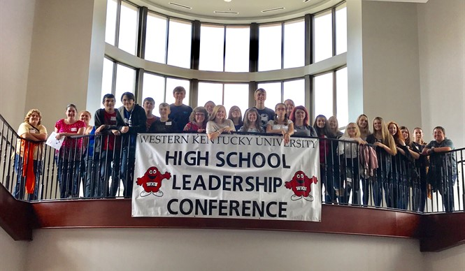 CCHS students attend the WKU High School Leadership Conference.