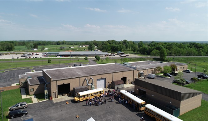 A celebration with food, fun, and a drone demonstration was an excellent ending to the school year for the students and staff at CCATC.