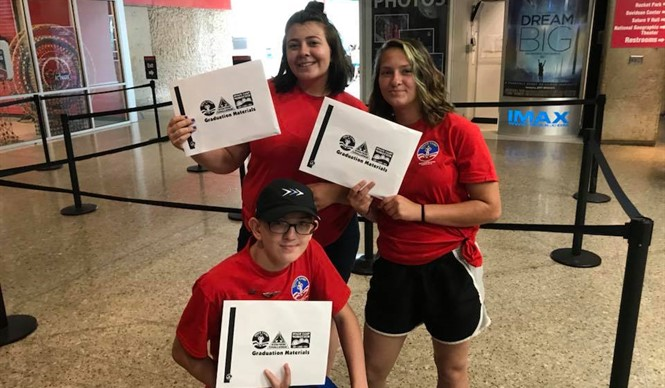 Three students from the Clinton County Migrant Education attended Space Camp in Huntsville, Alabama.