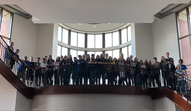 Thirty-seven students from CCHS attended the annual High School Leadership Conference at WKU.