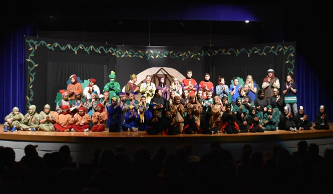 Missoula Children's Theatre (MCT) and more than 50 local students performed SNOW WHITE & THE SEVEN DWARFS.