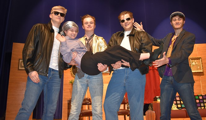 The CCHS Junior Class play Long Live Rock 'N' Roll was amazing!