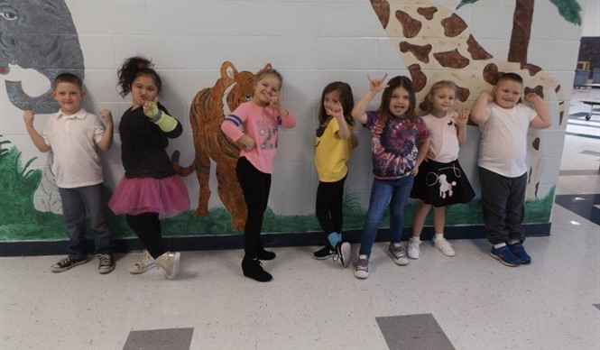 Students at the Clinton County Early Childhood Center enjoyed lots of fun activities during Read Across America Week!
