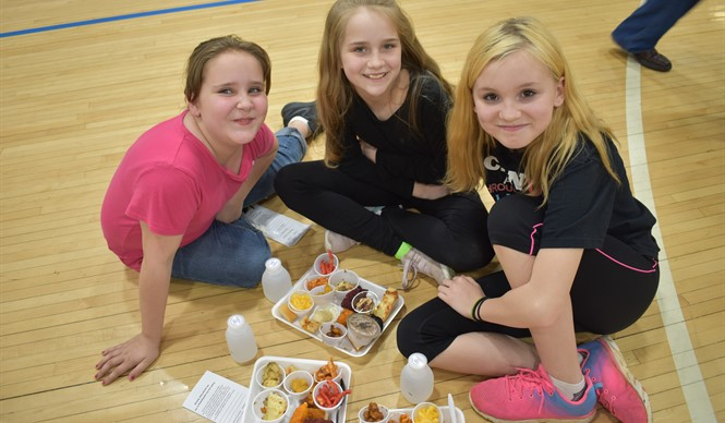 Over 250 people attended the 7th annual Clinton County Schools Taste Testing at Clinton County High School.
