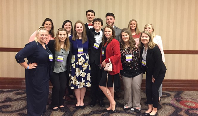 Twelve members of CCATC's chapter of FBLA attended the State Leadership Conference at the Galt House Hotel in Louisville, KY.