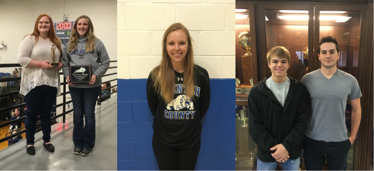 "Lady Bulldogs Macy Campbell, Mackenzie Polston, and Allee Hopper, and Bulldogs Clay Choate and Jamison Summers were named to the All-Tournament Teams during the Touchstone Energy All ""A"" Classic 4th Region Basketball Tournament."