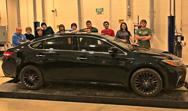 The Automotive Technology program at Clinton County ATC received a generous donation from Toyota Motor Manufacturing in Georgetown, Kentucky.