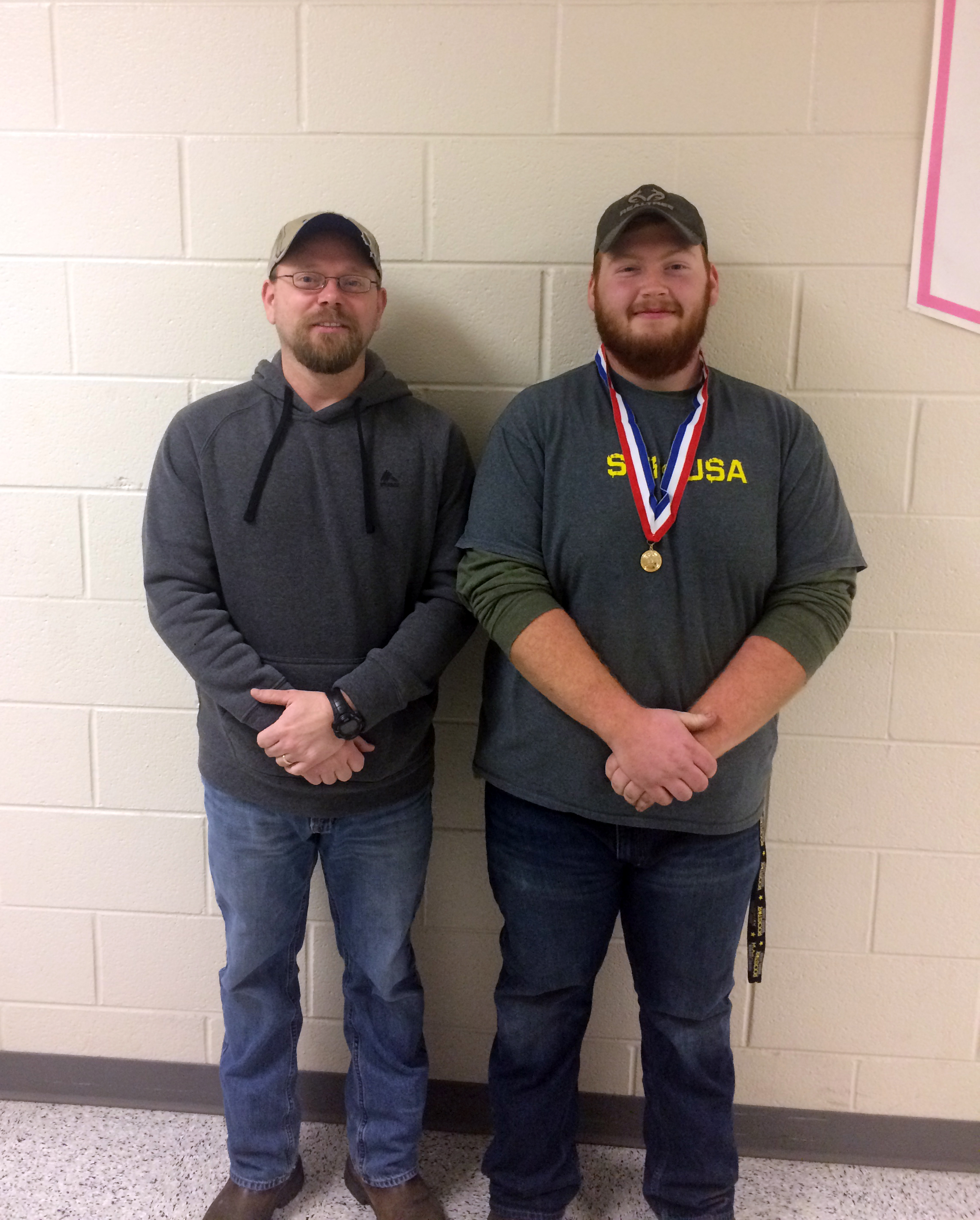 On February 17th, CCATC student Billy Abbott won first place at the Skills USA competition in Tool Identification for the automotive program.