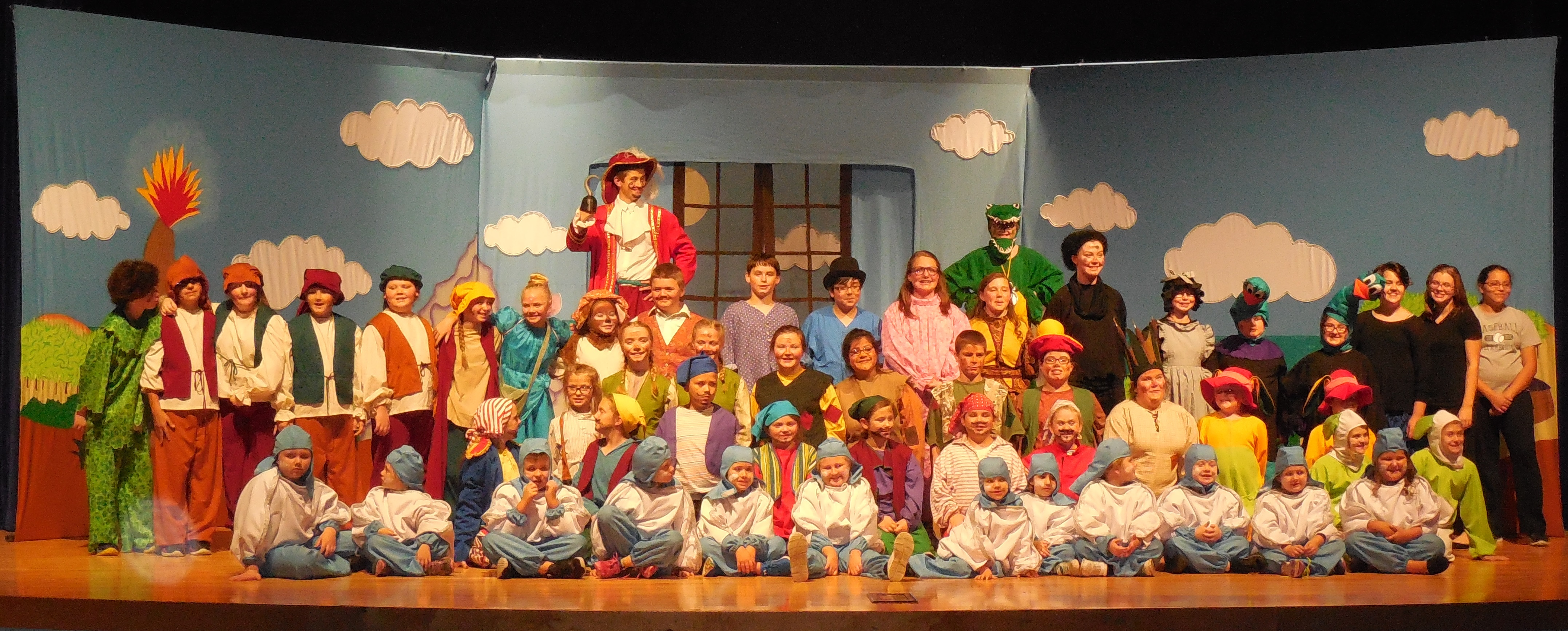 Missoula Children's Theatre and over 50 local students presented an original musical adaptation of Peter & Wendy on Friday, November 11th.