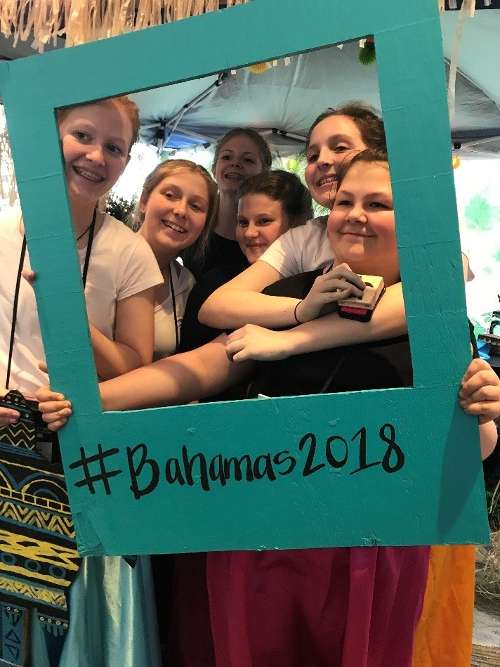 The Clinton County Middle School delegation represented the Bahamas at the Kentucky United Nations Assembly (KUNA) on March 25-27, 2018.