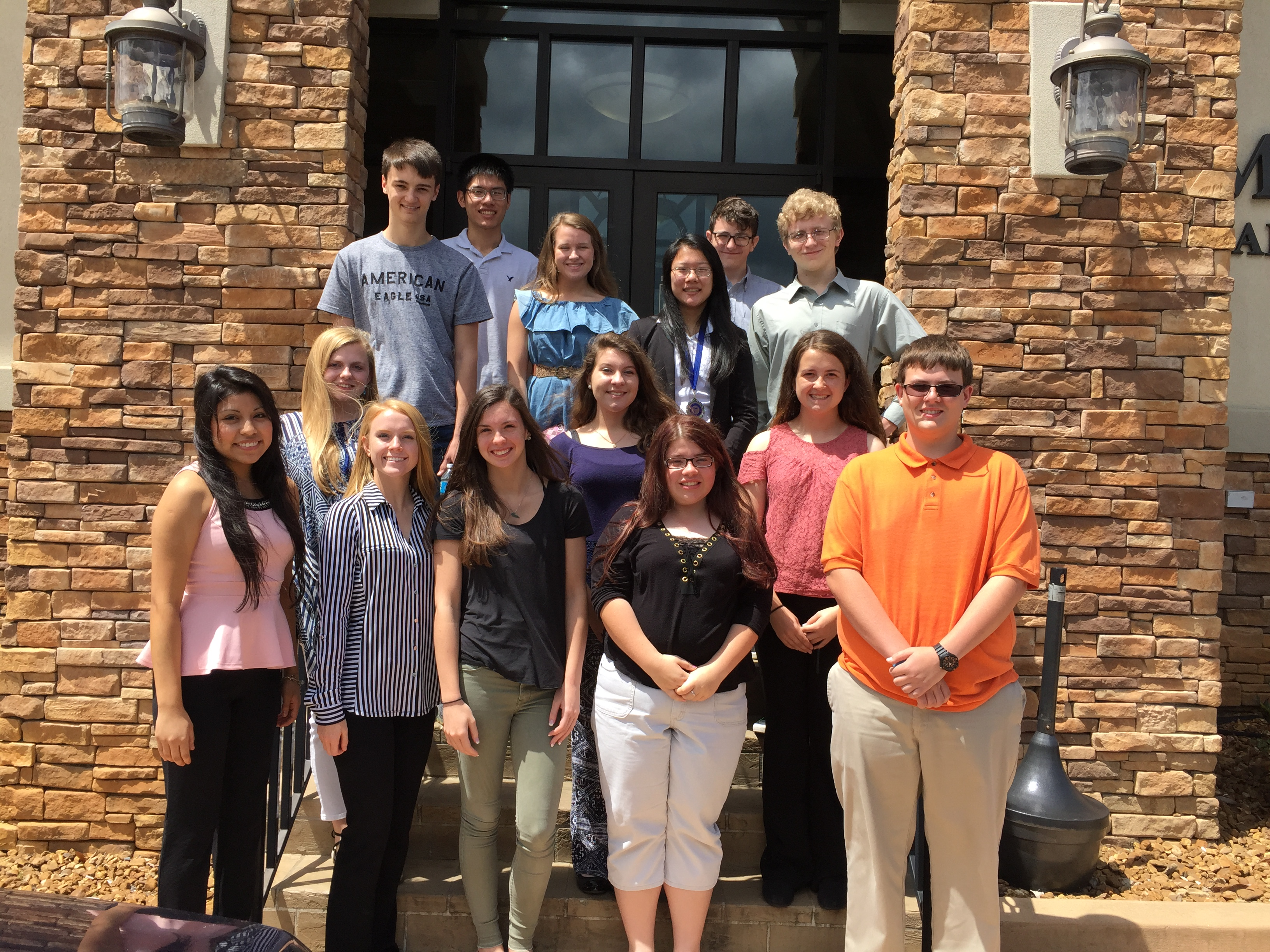 Student members of CCATC's FBLA chapter who competed at the State Leadership Conference were honored at the most recent Chamber of Commerce meeting.