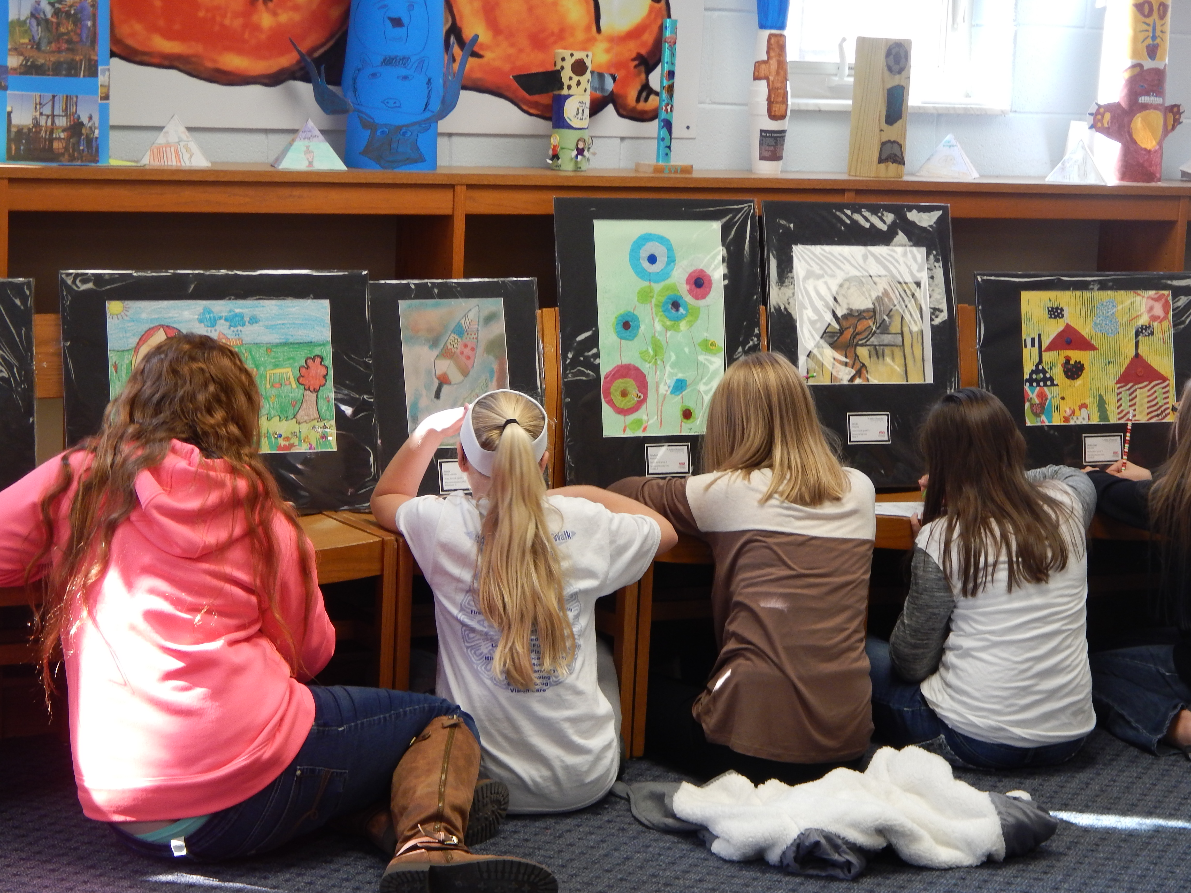 "The VSA Kentucky Student Traveling Art Exhibit, ""A Matter of Perspective"" is now on display at CCMS."