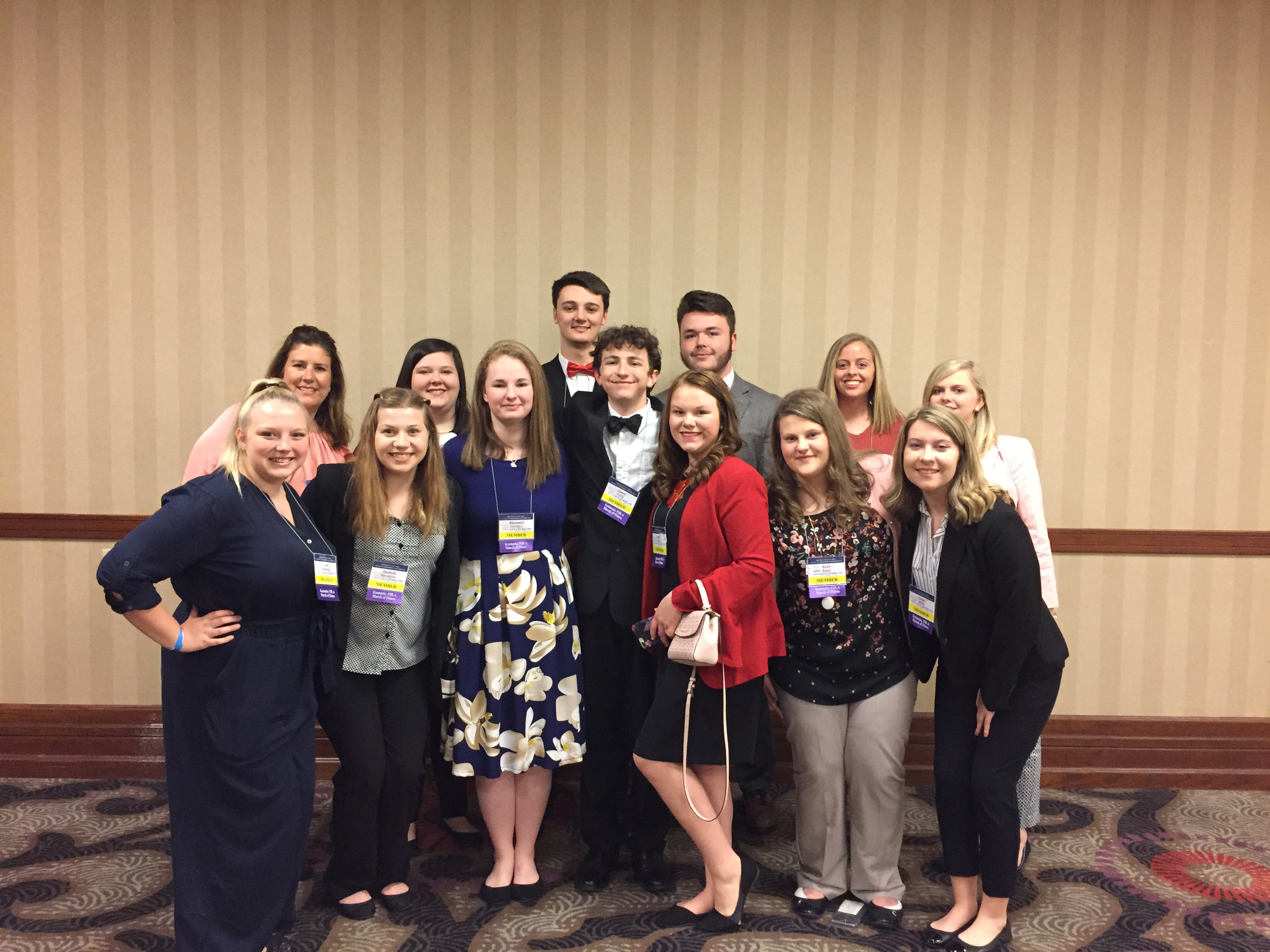 On April 15-17, 2019, 12 members of Clinton County ATC's chapter of Future Business Leaders of America attended the State Leadership Conference at the Galt House Hotel in Louisville, KY.