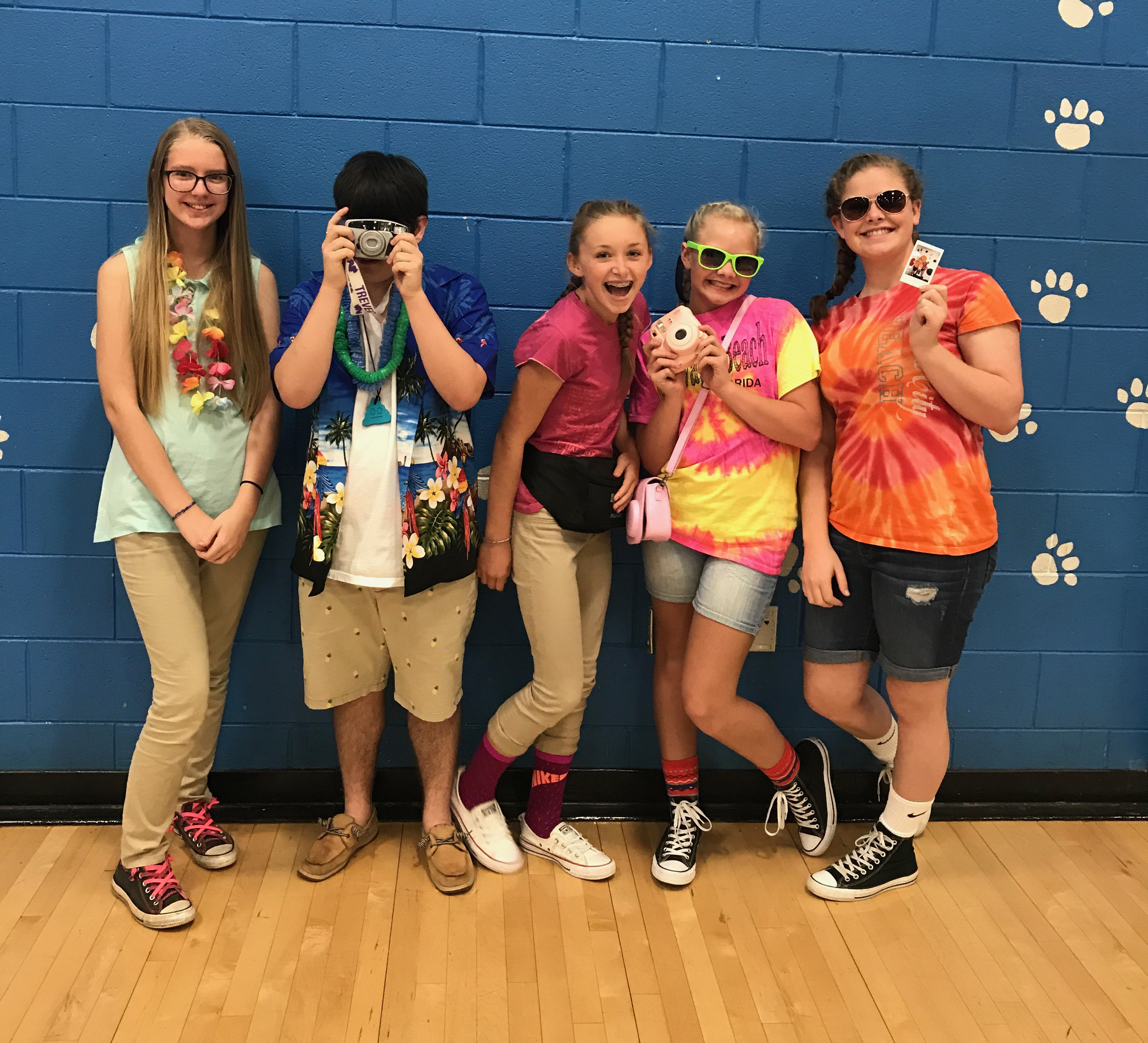 Students and staff at CCMS & CCHS participated in Gear Up Week September 18th - 22nd.
