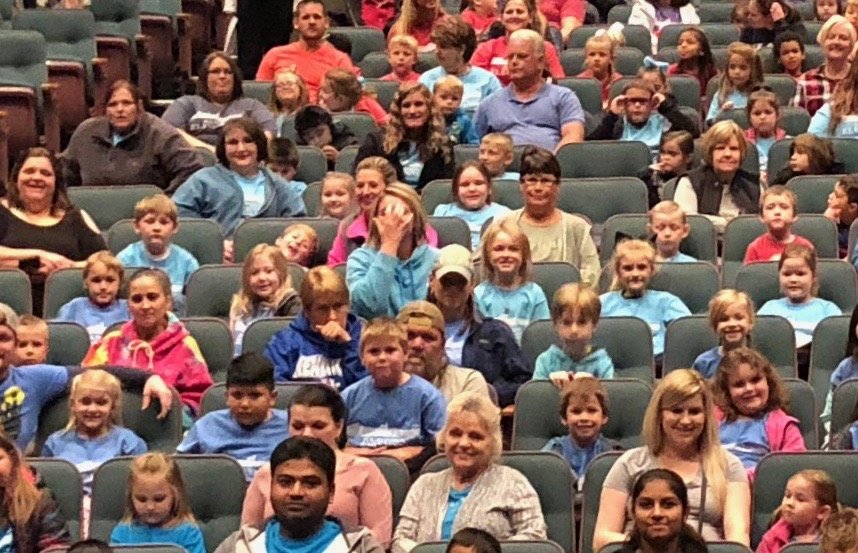 On Tuesday, October 23rd, the first grade classes at AES traveled to Somerset to see the musical Biscuit at the Center for Rural Development.