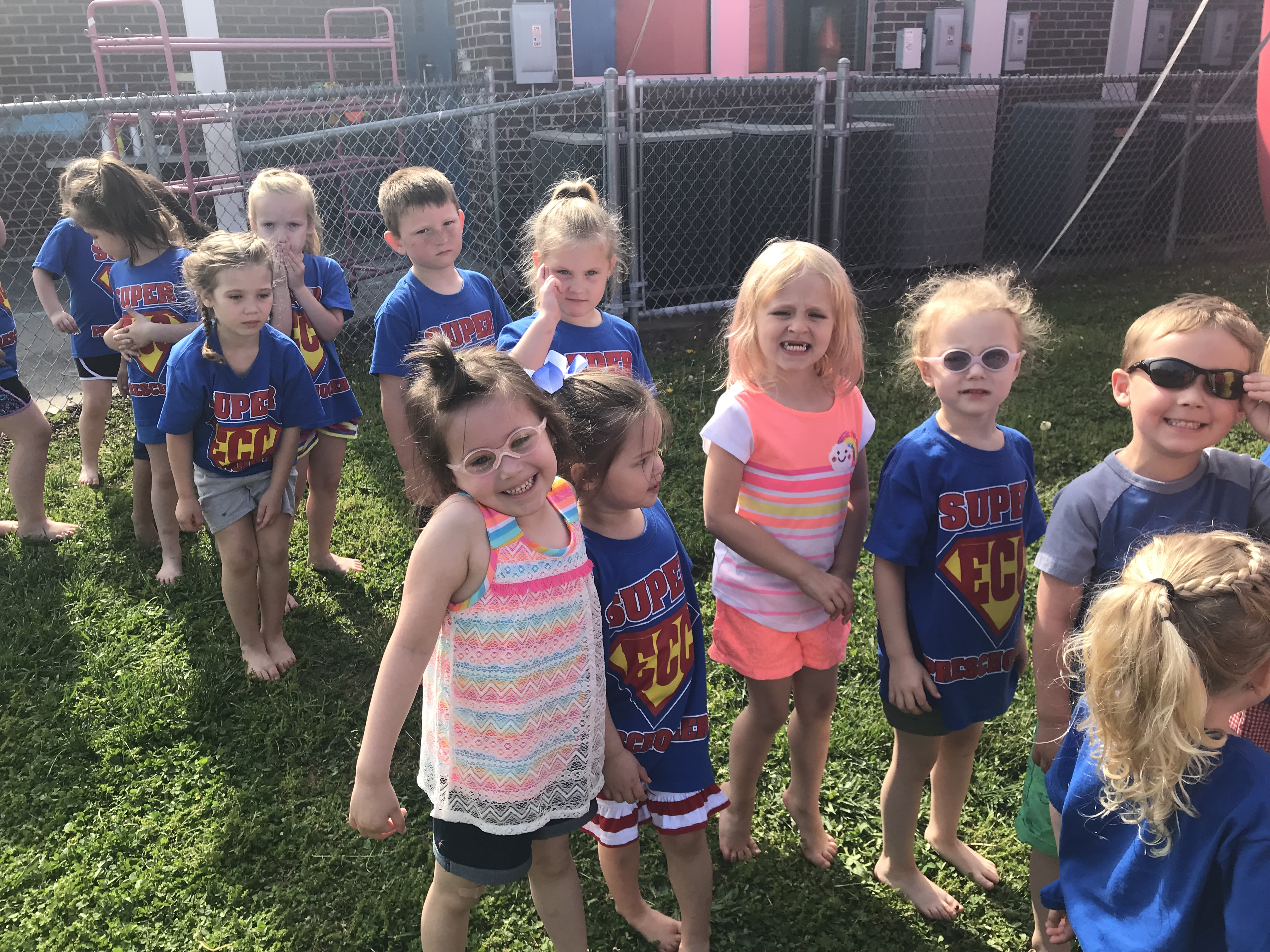 The preschool students at the Clinton County Early Childhood Center celebrated their last day of school on April 26th with a FUN DAY!